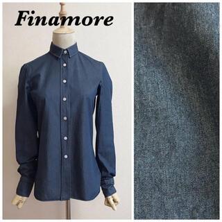 FINAMORE - Finamore シャンブレーシャツ