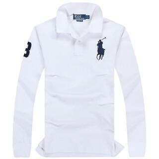 ポロラルフローレン(POLO RALPH LAUREN)の高品質男性用ポロ ラルフローレンポロシャツ長袖20色(ポロシャツ)