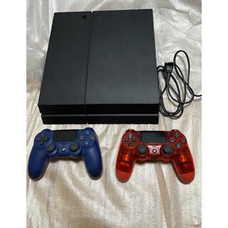 プレイステーション4(PlayStation4)のプレステ4 本体 コントローラー(家庭用ゲーム機本体)