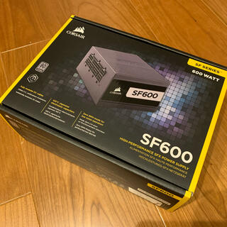 新品同様 CORSAIR 電源ユニットSF600 Platinum