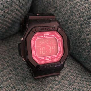 Baby-G - CASIO Baby-G ベイビーG BG-5601 ブラック×ピンク 腕時計