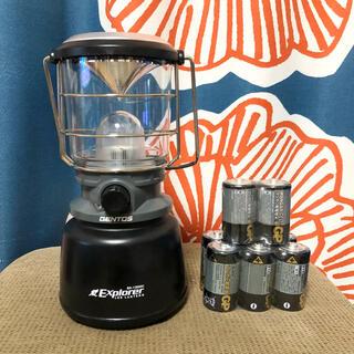 ジェントス(GENTOS)のジェントス エクスプローラー EX-1000 電池付き(ライト/ランタン)