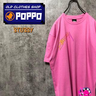 STUSSY - ステューシーSTUSSY☆メキシコ製マルチロゴプリントTシャツ
