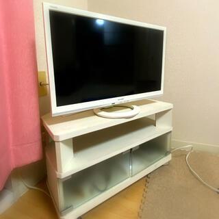 SHARP - テレビ 24V SHARP(テレビ台付)