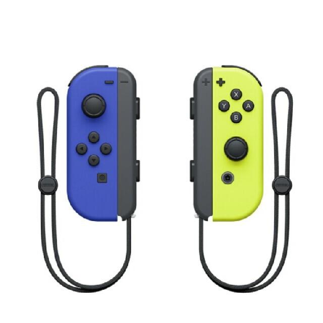 Nintendo Switch(ニンテンドースイッチ)の【新品】Nintendo Switch Joy-Con ブルー/ネオンイエロー エンタメ/ホビーのゲームソフト/ゲーム機本体(その他)の商品写真