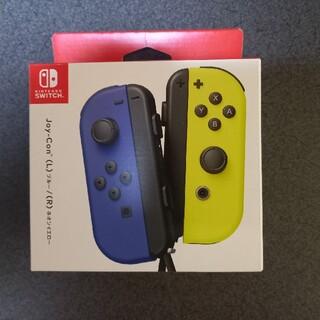 Nintendo Switch - 【新品】Nintendo Switch Joy-Con ブルー/ネオンイエロー