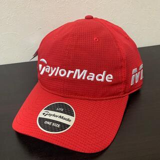 テーラーメイド(TaylorMade)のアディダステーラーメイドゴルフキャップ新品(ウエア)