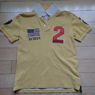 アヴィレックス(AVIREX)のAVIREX ポロシャツ イエロー Mサイズ(ポロシャツ)