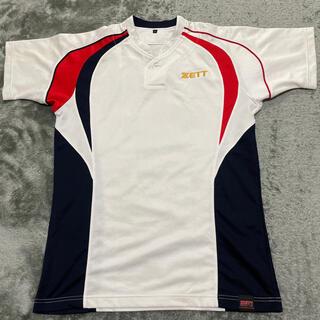 ゼット(ZETT)のZETT ゼット ベースボールシャツ 半袖(ウェア)