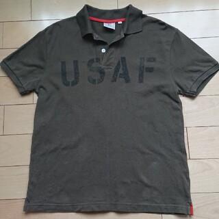 アヴィレックス(AVIREX)のAVIREX ポロシャツ カーキ Mサイズ(ポロシャツ)