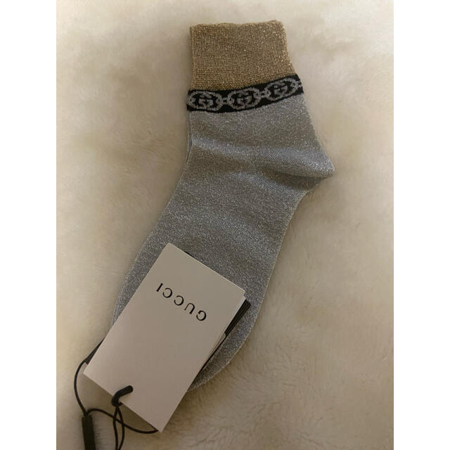 Gucci(グッチ)のGUCCI 新品未使用品 ソックス レディースのレッグウェア(ソックス)の商品写真