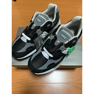 ニューバランス(New Balance)の New Balance M992 EB Black Grey【サイズ27㎝】(スニーカー)