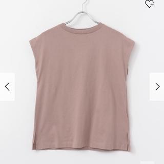 センスオブプレイスバイアーバンリサーチ(SENSE OF PLACE by URBAN RESEARCH)のSENSEOFPLACE フレンチスリーブTシャツ (Tシャツ(半袖/袖なし))