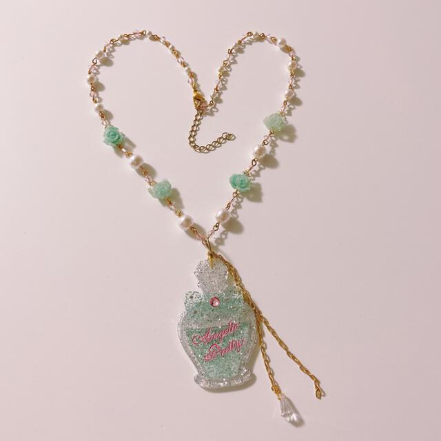 Angelic Pretty(アンジェリックプリティー)のAngelicPretty ローズトワロネックレス レディースのアクセサリー(ネックレス)の商品写真