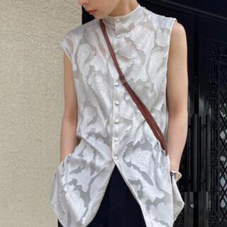 Ameri VINTAGE - Ameri vintage neck twist blouse