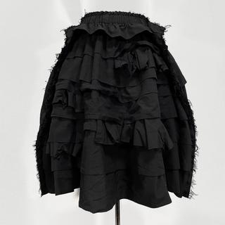 COMME des GARCONS - AD2016 コムデギャルソン 段々フリル 立体スカート