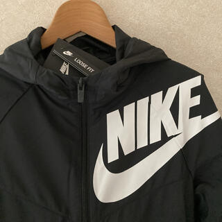 NIKE -  160㎝ ナイロン パーカー NIKE  キッズ 子供