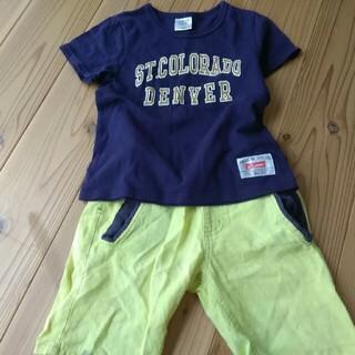 グローバルワーク(GLOBAL WORK)のキッズTシャツ&ズボンセット(Tシャツ/カットソー)