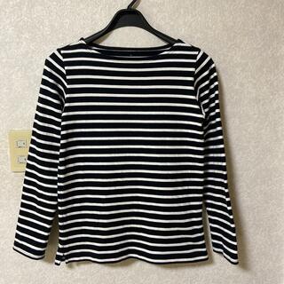 ムジルシリョウヒン(MUJI (無印良品))の無印 ボートネックTシャツ M(Tシャツ(長袖/七分))