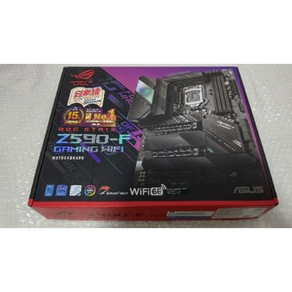 美品 ASUS ROG STRIX Z590-F GAMING WIFI(PCパーツ)