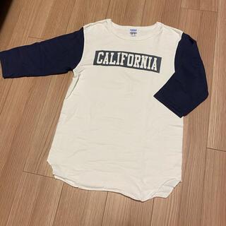 スタンダードカリフォルニア(STANDARD CALIFORNIA)のスタンダードカリフォルニア × チャンピオン ベースボールTシャツ(Tシャツ/カットソー(七分/長袖))