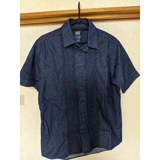 ハレ(HARE)のHARE ハレ 刺繍 シャンブレー 半袖シャツ(シャツ)