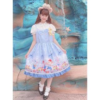 ディズニー(Disney)の新品 上海ディズニー ダッフィー ジャンパースカート(ひざ丈ワンピース)