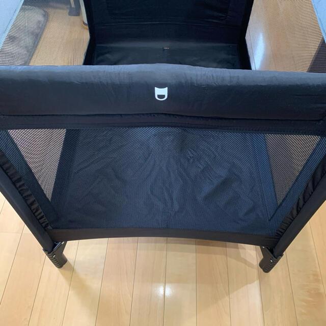 KATOJI(カトージ)のカトージ KATOJI プレイヤード NewYorkBaby  ブラック キッズ/ベビー/マタニティの寝具/家具(ベビーベッド)の商品写真