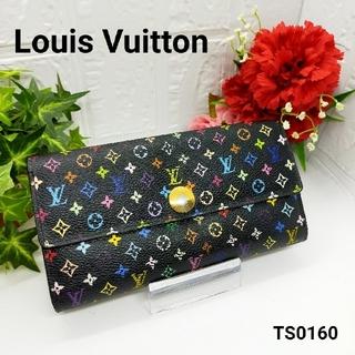 LOUIS VUITTON - 【鑑定済み】Louis Vuitton 長財布 マルチカラー TS0160