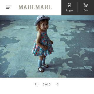 PETIT BATEAU - 【新品】MARLMARL doudou dress dahlia