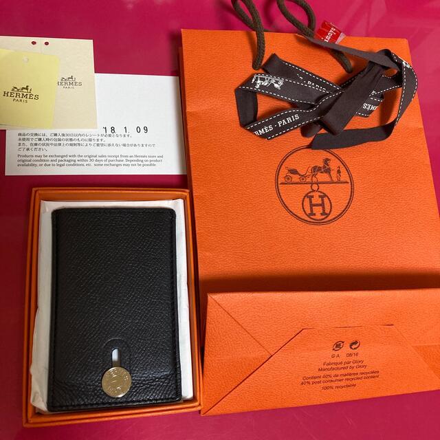 Hermes(エルメス)のエルメス カードケース 名刺入れ レディースのファッション小物(名刺入れ/定期入れ)の商品写真