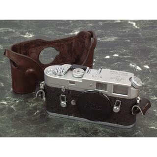 LEICA - Leica M4 シルバークローム 119万番台 革ケース付