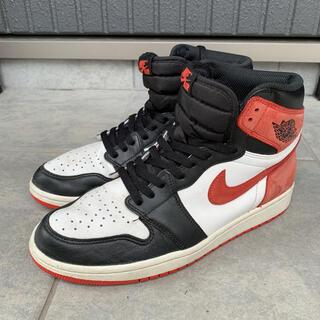 NIKE - 28cm Nike air jordan1 track red