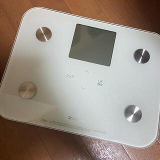 ソフトバンク(Softbank)の充電式ヘルスメーター(体重計/体脂肪計)