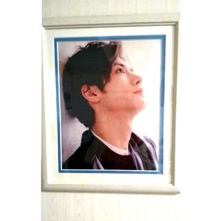 三浦春馬 アートパネルポスター、Lサイズ写真2枚付(アート/写真)
