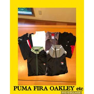 フィラ(FILA)のプーマ、フィラ、オークレー❤️ゴルフウェア黒、白6点おまとめ(ウエア)