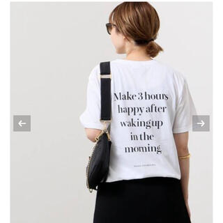 DEUXIEME CLASSE - Deuxieme Classe【SKIN/スキン】BACK PRINT Tシャツ