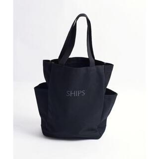 シップスフォーウィメン(SHIPS for women)のSHIPS サイドポケットトートバッグソリッド エコバッグ トートバック(トートバッグ)