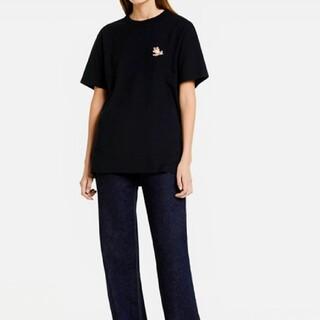 MAISON KITSUNE' - XSサイズ メゾンキツネ チラックス フォックス Tシャツ