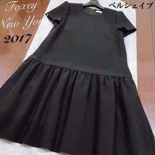 """FOXEY - フォクシー FOXEY ワンピース✨半袖ワンピース♪""""BellShape""""42"""