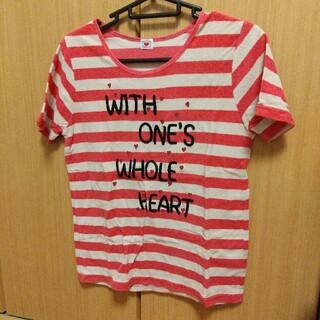 rough - マリンTシャツ ハートパラダイス ボーダーTシャツ