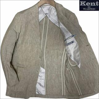 ヴァンヂャケット(VAN Jacket)のJ3011 美品 ケント イン トラディション オールリネン サマージャケットS(テーラードジャケット)