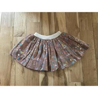 アンナニコラ(Anna Nicola)の新品 アンナニコラ  花柄 バルーンスカート 80センチ 女の子 ベビー(スカート)