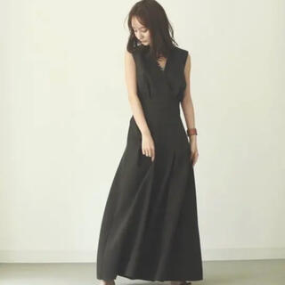 TODAYFUL - l ouren  pleats long onepiece ダークブラウン