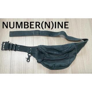 ナンバーナイン(NUMBER (N)INE)のナンバーナイン NUMBER(N)INE ウエストバック 解散前モデル(ウエストポーチ)