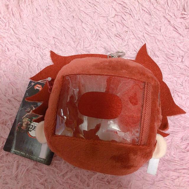 BANDAI(バンダイ)の新品未使用✨鬼滅の刃 炭治郎 パスケース ふわころりん エンタメ/ホビーのおもちゃ/ぬいぐるみ(キャラクターグッズ)の商品写真