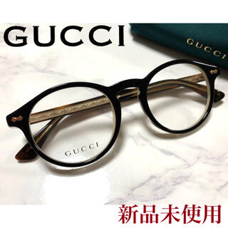 グッチ(Gucci)の✴︎新品✴︎ レア 正規品 GUCCI メガネ ボストン べっ甲柄 サンローラン(サングラス/メガネ)