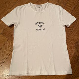 エンポリオアルマーニ(Emporio Armani)のエンポリオアルマーニ☆半袖ロゴTシャツ☆サイズS(Tシャツ(半袖/袖なし))