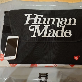 GDC - Human made × Girs Don't Cry メッセンジャーバッグ