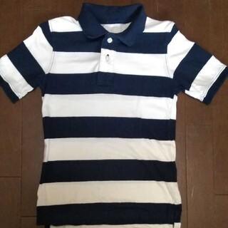ギャップキッズ(GAP Kids)のGapKids ギャップキッズ 150cm ポロシャツ ボーダー 紺 白(Tシャツ/カットソー)